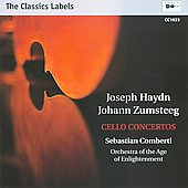 Joseph Haydn, Johann Zumsteeg: Cello Concertos