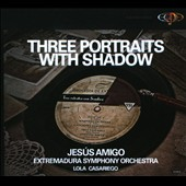 Three Portraits with Shadow