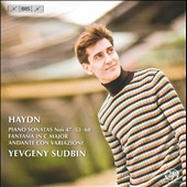 Haydn: Piano Sonatas Nos. 47, 53, 60; Fantasia in C major; Andate con Variazioni