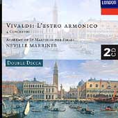 Vivaldi: L'Estro Armonico / Marriner, Academy of St Martin