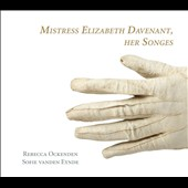 Mistress Elizabeth Davenant: Her Songs