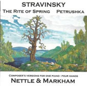 Stravinsky: The Rite of Spring; Petrushka / composer's vers. for piano 4 hands