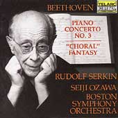 Beethoven: Piano Concerto no 3 / Serkin, Ozawa, Boston SO