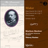 The Romantic Piano Concerto, Vol. 55: Widor: Concertos nos 1 & 2 / Markus Becker, piano