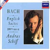 Bach: English Suites, BWV 806-11 / András Schiff