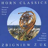 Horn Classics - Telemann, Rossini, Haydn, Mozart / Zbigniew Zuk, et al