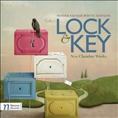 Lock & Key: New Chamber Works by Pender, Salvage, Perttu and Hawkins / Moravian PO Chamber Players; R. David Salvage, piano