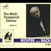 Bach: The Well-Tempered Clavier Book II, Richter, piano
