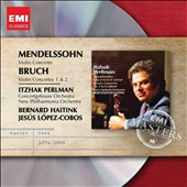 Mendelssohn: Violin Concerto; Bruch: Violin Concertos 1 & 2 / Itzhak Perlman, violin