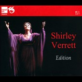 Shirley Verrett Edition - Songs from her early career by Schubert, Tchaikovsky, Rachmaninov, Copland Falla et al.