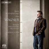 Baritone James Rutherfod sings Wagner opera arias / Bergen PO, Andrew Litton