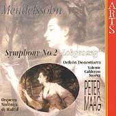 Mendelssohn: Symphony no 2 / Maag, Valente, Su&#225;rez, et al
