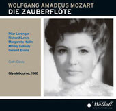 Mozart: Die Zauberflöte (The Magic Flute) / PilarLorengar, Richard Lewis, Margareta Hallin, Mihaly Szekely, Geraint Evans. Colin Davis (Glyndebourne, 1960)