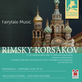 Rimsky-Korsakov: Sheherazade -Symphonic Suite, Op. 35; The Golden Cockerel, Suite / Stanislav Gorkovenko, St. Petersburg Radio & TV Symphony Orchestra; Victor Fedotov, Academic Symphony Orchestra of the St. Petersburg Philharmonia