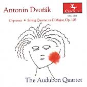 Dvorák: Cypresses, String Quartet in G / Audubon Quartet