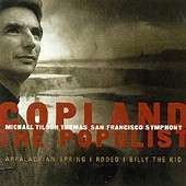 Copland The Populist / Tilson Thomas, San Francisco SO