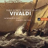 Vivaldi: La tempesta di mare, etc / Biondi, Europa Galante