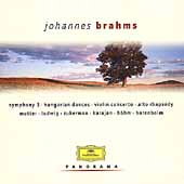 Brahms: Symphony no 3, Hungarian Dances, etc /Karajan, et al