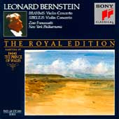 The Royal Edition - Brahms, Sibelius: Concertos / Bernstein