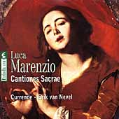 Marenzio: Cantiones sacrae / Erik van Nevel, Currende