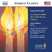American Classics - Gottlieb: Love Songs for Sabbath, etc