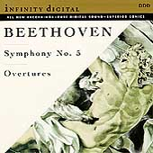Beethoven: Symphony no 5, Overtures / Titov