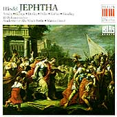 Händel: Jephtha / Creed, Ainsley, George, Denley, Oelze
