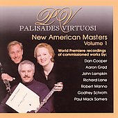 New American Masters Vol 1 - Manno, Cooper, Lane