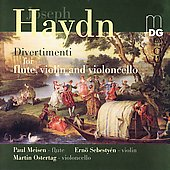 Haydn: Divertimenti / Meisen, Sebesty&eacute;n, Ostertag