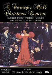 Carnegie Hall Christmas / Marsalis, Von Stade, Battle  [DVD]
