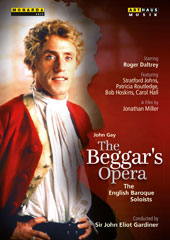 John Gay (1685-1732): The Beggar's Opera, staged for television / Roger Daltrey, Stratford Johns, Patricia Routledge, Carol Hall, Rosemary Ashe. English Baroque Soloists, Gardiner [DVD]