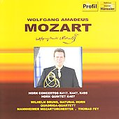 Mozart: Horn Concertos no 2, 3, 4, etc / Bruns, Fey, et al