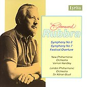 Rubbra: Symphonies 2 & 7, Festival Overture / Handley, Boult