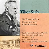 Serly: Six Dance Designs / Freeman, Czech SO