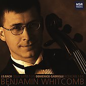 Bach, Gabrielli: Solo Cello Works / Benjamin Whitcomb