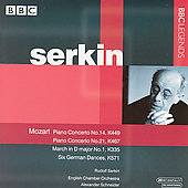 Mozart: Concerto for Piano no 14 & 21, etc / Serkin