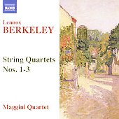 Berkeley: String Quartets no 1-3 / Maggini Quartet
