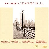 Harris: Symphony no 11;  Gould, Effinger, Moore / Ian Hobson, Sinfonia Varsovia