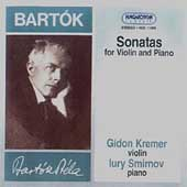 Bartok: The Two Sonatas for Violin & Piano / Gidon Kremer & Yuri Smirnov