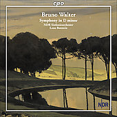 Walter: Symphony no 1 / Botstein, North German RSO