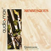 Arabesques - music for flute ensemble by Debussy, Scheidt, Grieg, Gesualdo, Couperin, J.S. Bach et al. / Quintessenz