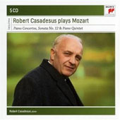 Robert Casadesus Plays Mozart - Piano Concerto nos 12, 15, 17, 21-24, 26-27; Concertos for 2 and for 3 Pianos [5 CDs]