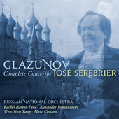 Glazunov: Complete Concertos / Serebrier