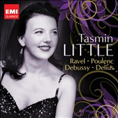 Ravel, Poulenc, Debussy: Violin Concertos; Delius: Cello Concerto et al. / Tasmin Little, violin; Raphael Wallfisch, cello