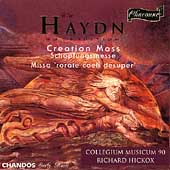 Haydn: Creation Mass, etc / Hickox, Collegium Musicum 90