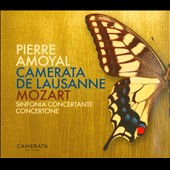 Mozart: Sinfonia concertante; Concertone / Amoyal, Cameraata de Lausanne