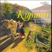 Caspar Kummer: Chamber Music for Winds / Luigi Magistrelli, Italian Classical Consort