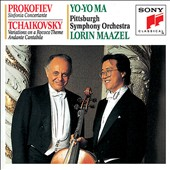 Prokofiev: Sinfonia Concertante; Tchaikovsky: Variations on a Rococo Theme; Andante Cantabile / Yo-Yo Ma, cello