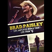 Brad Paisley: Life Amplified World Tour: Live From WVU [Video] *