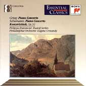 Grieg, Schumann: Piano Concertos / Entremont, Serkin